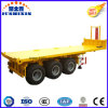 20feet 3axle Flatbed Tipper Semirremolque