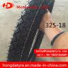 In het groot Grootte 325-18 van de Band van de Motorfiets van het Merk van de Fabriek Shandong Hoogste/Zonder binnenband van de Band van de Band van de Motorfiets