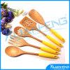 Cuillère à cuire en bois de spatule d'ustensiles d'outils