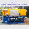 Цемент положенный в мешки Cbj30c распаковывая транспортер