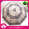 イギリスの格子縞3の折る傘(HH005)
