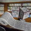 Sudokuはトイレットペーパーの新型の屋内トイレのロールによってカスタマイズされたトイレットペーパーを印刷した