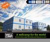 Casa prefabricada modular económica del envase de la oficina