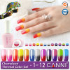 50423X Hot! New! Canni Soak off UV/LED Chameleon Thermal Color Gel Polish, Magic Temperature Change Nail Polish Gel