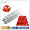 2016 la meilleure lumière de vente T8 de tube du nanomètre 150lm/W 60cm 9W DEL