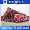 10wheeler 21-30ton 6X4 336HP 371HP HOWO鉱山のダンプのダンプカートラック