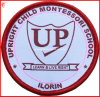 Remendo da escola do emblema do bordado da roupa (YH-WB041)