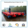 중국 공급자 10 차축 좋은 가격을%s 가진 낮은 침대 트럭 트레일러