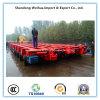 Трейлер тележки кровати Axles поставщика 10 Китая низкий с хорошим ценой
