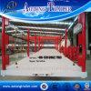 De op zwaar werk berekende Lage Flatbed Semi Aanhangwagen van 3 As voor Verkoop