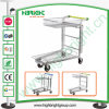Supermarket Shopping Cart and Logistics Cargo Flat Trolley