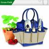 Maletas de ferramentas do jardim do projeto da mola, maleta de ferramentas do portador do jardim