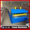 A alta qualidade vitrificou o rolo da telha que dá forma à máquina para fazer a telha do aço de Metcoppo