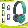 Auscultadores Foldable do estéreo dos auriculares do auscultadores sem fio confortável de Bluetooth
