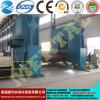 Placa inteiramente hidráulica Rolls, máquina de rolamento superior da placa do rolo do CNC
