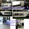 Máquina de coser automatizada Largo-Brazo del punto de cadeneta de la alimentación compuesta del mecanismo impulsor directo de la aguja de Doubel con el tirador