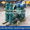Pompe concrète de mortier de la colle de piston de double d'approvisionnement d'usine