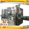 Automatische Apfelsaft-heiße Flaschenabfüllmaschine