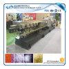 Пластмасса Pet/PE/PP/PA/PS смешивая рециркулирующ лепешку делая двойную машину штрангпресса винта