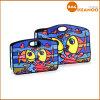 Sacs d'emballage estampés par école colorée de tissu de dessin animé de poissons de sac à main de Britto