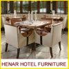 Jogos de madeira modernos luxuosos da mobília do restaurante da cadeira de tabela do frame