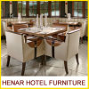 Moderne hölzerne Feld-Tabellen-Stuhl-Gaststätte-Möbel-Luxuxsets