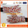 Ddsafety 2017 садовничая тумаков полосы перчатки печатей хлопка перчаток