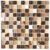 Mosaico de cristal de la piedra de la mezcla del mosaico del arte de cristal de Brown
