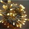 Света рождества украшения клея СИД провода праздника напольные резиновый