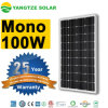 El panel monocristalino de 90W 100W 110W picovoltio costado por la KVH