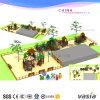 2015年のVasiaの屋外の子供の日光シリーズ運動場装置