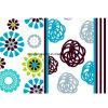 Blume Pigment&Disperse des Ring-100%Polyester druckte Gewebe für Bettwäsche-Set