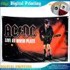 Drapeau d'impression numérique pour concert de musique (B-NF03F03030)