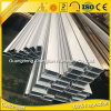6000 series del polvo cubrieron el aluminio blanco sacaron tubo del aluminio de los perfiles