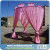 Rundes Zelt-Rohr und drapiert für Hochzeits-Dekoration