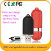 Azionamento su ordinazione dell'istantaneo del USB del cuoio, azionamento della penna per la promozione (EL013)