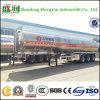40000L remorque brillante de camion de réservoir d'essieu de l'aluminium 3