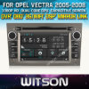 Opel Vectra 2005-2008년 Car를 위한 Witson Car DVD DVD GPS 1080P DSP Capactive Screen WiFi 3G Front DVR Camera