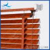 Persianas de madera del Faux del PVC de la economía 50m m