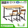 Mesa ajustável e cadeira do dobro o mais novo da sala de aula do estudo do estudante