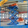 Plate-forme extérieure de levage de ciseaux de cargaison de bonne qualité à vendre
