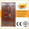 Una vez y media la hoja de seguridad de la puerta de acero, puerta de diseño único (SC-S152)