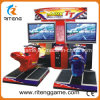 Motocicleta que compite con la máquina del simulador de la máquina de juego video para la zona del juego