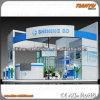 Конструкция будочки торговой выставки индикации продуктов выставки изготовляет