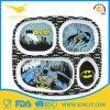 Plaque de dîner antidérapante de vaisselle de Batman de mélamine pour le cadeau