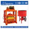 Блок Qtj4-40 Henry промышленный полуавтоматный полый, вымощающ блок и твердый блок делая машину