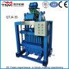 Pequena máquina de fazer tijolos (QTJ4-35)