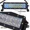 Combinaison LED outre de guide optique de route