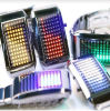 Moderne LED-Uhr (L002)