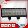 Super Heet! ! 180W Straight vierling-Row LED Light Bars voor 4X4 Truck SUV 60X3w CREE